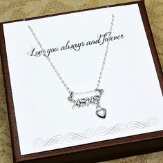 Gift for Her Gift for Girlfriend Wife gift by StarringYouJewelry #giftforher #sterlingsilver