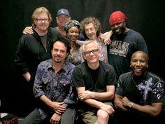 Back Row, Front Row, Jeff Porcaro, Simon Phillips, Joseph Williams, Van Halen, Fan Page, Great Bands, Great Friends