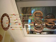Wooden Circles Wind Chime