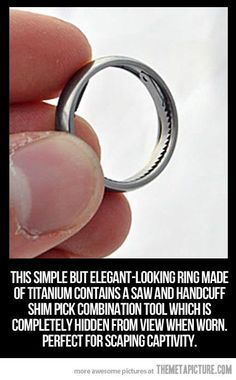 Wedding ring with a function. My spies would have these.