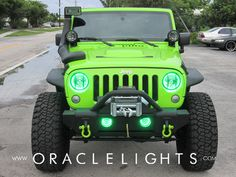 2007-2014 Jeep Wrangler JK ORACLE Halo Kit