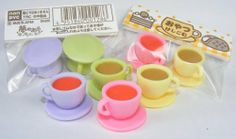 Coffee & Tea Cup Japanese Erasers. 2 Pack. Assorted Colors. By PencilThings by PencilThings, http://www.amazon.com/dp/B0069US5JI/ref=cm_sw_r_pi_dp_M1ucrb00RX5CG