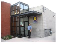 metal entrance canopy - Google Search