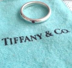 Tiffany & Co. Elsa Peretti Sterling Silver Ring With RUBY. Get the lowest price on Tiffany & Co. Elsa Peretti Sterling Silver Ring With RUBY and other fabulous designer clothing and accessories! Shop Tradesy now