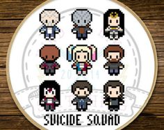 Stranger Things Friends Don't Lie Cross di Kindoflikestitching