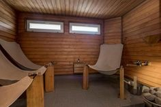 Nojatuolit saunassa Saunas, Small Apartments, Sweet Home, Indoor, Bathroom, Interior, Sauna Ideas, Decor, Hawks