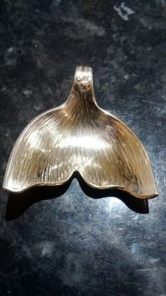 Silver spoon mermaid tail