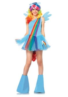 My Little Pony Rainbow Dash Adult Costume