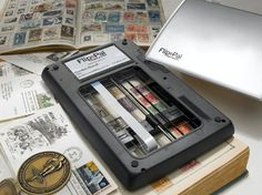 """This is the coolest scanner ever. I love it!  You can scan anywhere without a computer or power.  Large items can be scanned and """"stitched"""" together with the software.  It actually works great!  http://flip-pal-affiliates.com/idevaffiliate/idevaffiliate.php?id=439"""