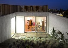 Green roofs and observation decks top hillside villa by António Costa Lima