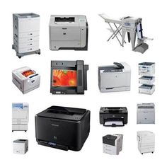 A laser printer is a type of digital printing machine that uses laser beams to produce printed output.