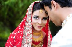 South Asian bride. Photo by www.marcellatreybigphotography.com