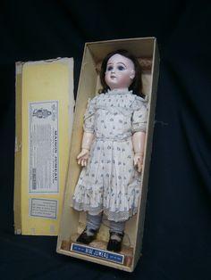Exquisite Antique French Bebe Jumeau Depose Size 12 Chemise Shoes BOX | eBay