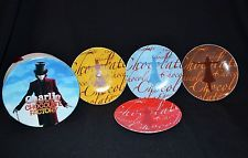 Warner Bros Charlie And The Chocolate Factory Dessert Plates 2005 Rare