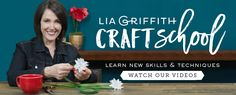 Lia Griffith is a designer, maker and handcrafted lifestyle expert who began blogging to share her unique paper flower designs and diy projects. Lia inspires millions worldwide to reconnect with their creativity through daily DIY projects, tutorials and videos.