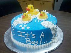 duck baby shower | rubber ducky cake — Baby Shower