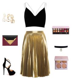 Night out (New Years Eve Party) by adri-sh on Polyvore featuring polyvore, fashion, style, River Island, A.L.C., Christian Louboutin, Dareen Hakim and clothing