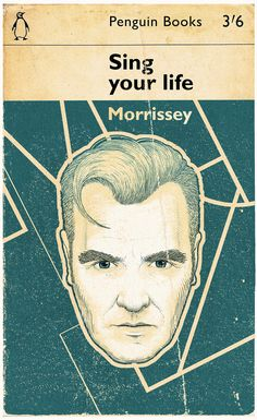Morrissey - The Smiths - Super Cool Illustrations by Bartosz Kosowski