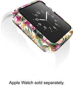 X-Doria - Revel Case for 38mm Apple Watch™ - Floral, 446242