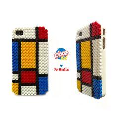 for order pixelol.hb@gmail.com pietmondrian, mondrian, pixelart, pixel, perler