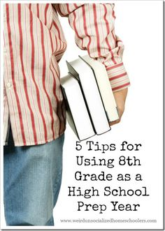 As I stand here on the cusp of homeschooling my second child through high school, I find myself once again contemplating the purpose of 8th grade. A lot of people see 8th grade as no different than the seven (plus Kindergarten) that came before it. I