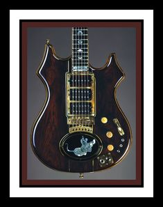 Doug Irwin Tiger Electric Guitar
