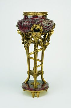 This is Versailles:Collection of: Marie Antoinette Perfume stand procured in 1782 Antique Perfume Bottles, Vintage Perfume, Marie Antoinette, Versailles, Decoration, Art Decor, Vases, French Royalty, Curiosity Shop
