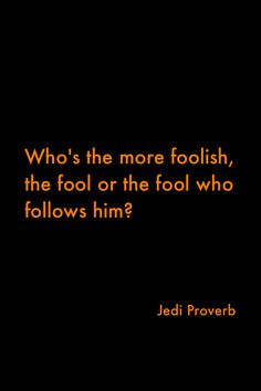 The fool who follows. The fool who enables, justifies and makes excuses... Way worse