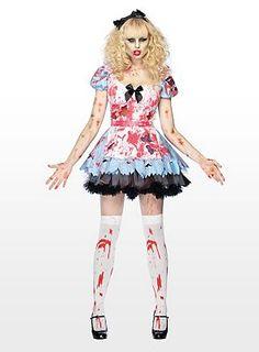 70€ Alice im Zombieland Kostüm