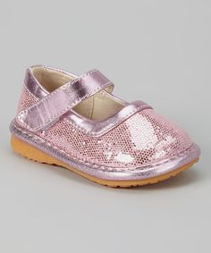 Another great find on #zulily! Pink Sparkle Mary Jane by Doodlebugs Boutique #zulilyfinds