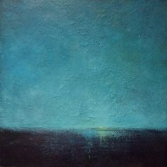 """Morning Star"". Encaustic on board by Anne Jankowski"