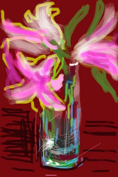 David Hockney Created with iPads and iPhones