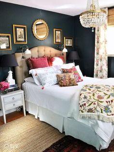 camera letto: da copiare colore parete+colore testiera+cuscini
