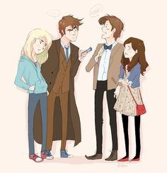 Doctor Who Fan art ftw! Can't wait till the 50th :)
