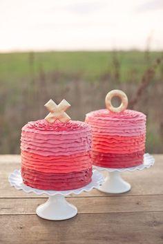 XO cakes! xo