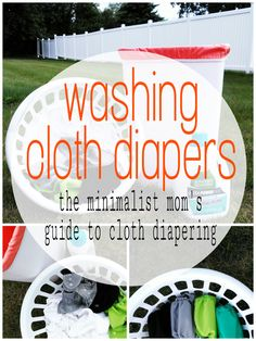 Modern Bottom Babies: The Minimalist Mom's Guide to Cloth Diapering Part...