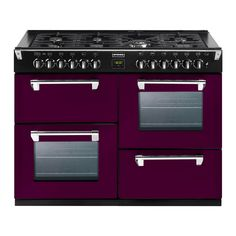 Sterdy, stylish, British made range cookers, giving you high performance and versatility, available in Richmond or Sterling range cooker design. Range cookers available in gas, dual fuel, and electric including induction hotplates. Size options include 900mm, 1000mm and 1100mm.