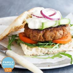 These Moroccan lamb burgers are 'bun'believably delicious!