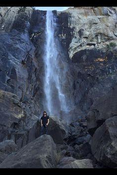 Corey James Hunt-Lewis 3 hrs ·    At Bridalveil Falls, Yosemite.