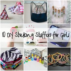 DIY STocking Stuffers for Girls