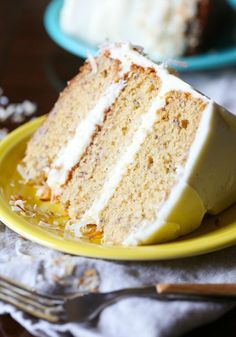 This is truly the Best Banana Cake Recipe ever! It's soft, sweet with the perfect amount of banana and it's topped with creamy frosting! I have been holding out on you. You see, this cake. Oh this cake. It's been on my list to share for some time now, but I always seem to get... Read More