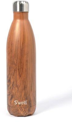S'well Sâwell Teakwood Stainless Steel 25 oz. Water Bottle