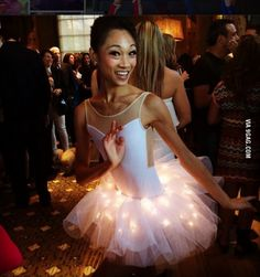 All tutus should have LED lights!