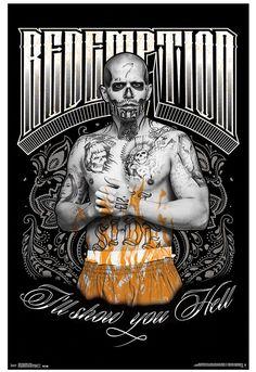 DC Comics Suicide Squad Diablo Poster