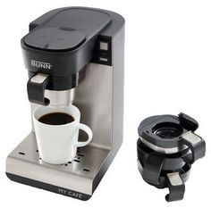 Bunn-O-Matic MCU My Cafe Single-Cup Brewer, 4 Coffee Machines-In-1 - Quantity 2 -- Unbelievable product right here! : Coffee Maker