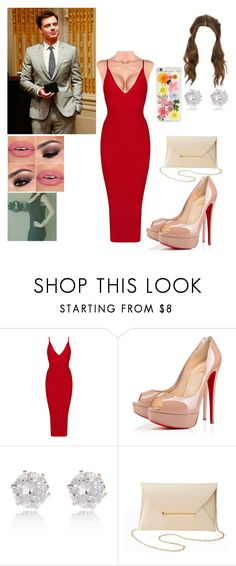 """""""⤵⏬⬇🔽"""" by brenda0rtiz ❤ liked on Polyvore featuring Sebastian Professional, Christian Louboutin, River Island, Charlotte Russe and Forever 21"""