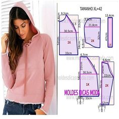 Amazing Sewing Patterns Clone Your Clothes Ideas. Enchanting Sewing Patterns Clone Your Clothes Ideas. Diy Clothing, Clothing Patterns, Dress Patterns, Coat Patterns, Fashion Sewing, Diy Fashion, Costura Fashion, Sewing Blouses, Easy Sewing Patterns