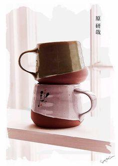 Japanese cups Collage design Japan AsiaMinimalism