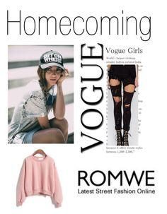"""""""Romwe"""" by malo-lama ❤ liked on Polyvore"""