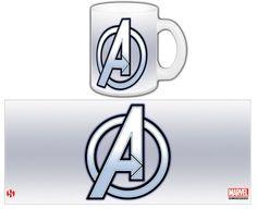 Taza Los Vengadores. Logo
